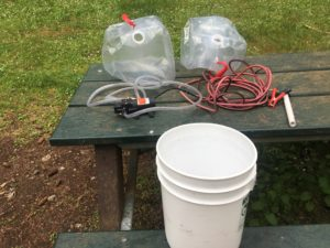 The electric pump system